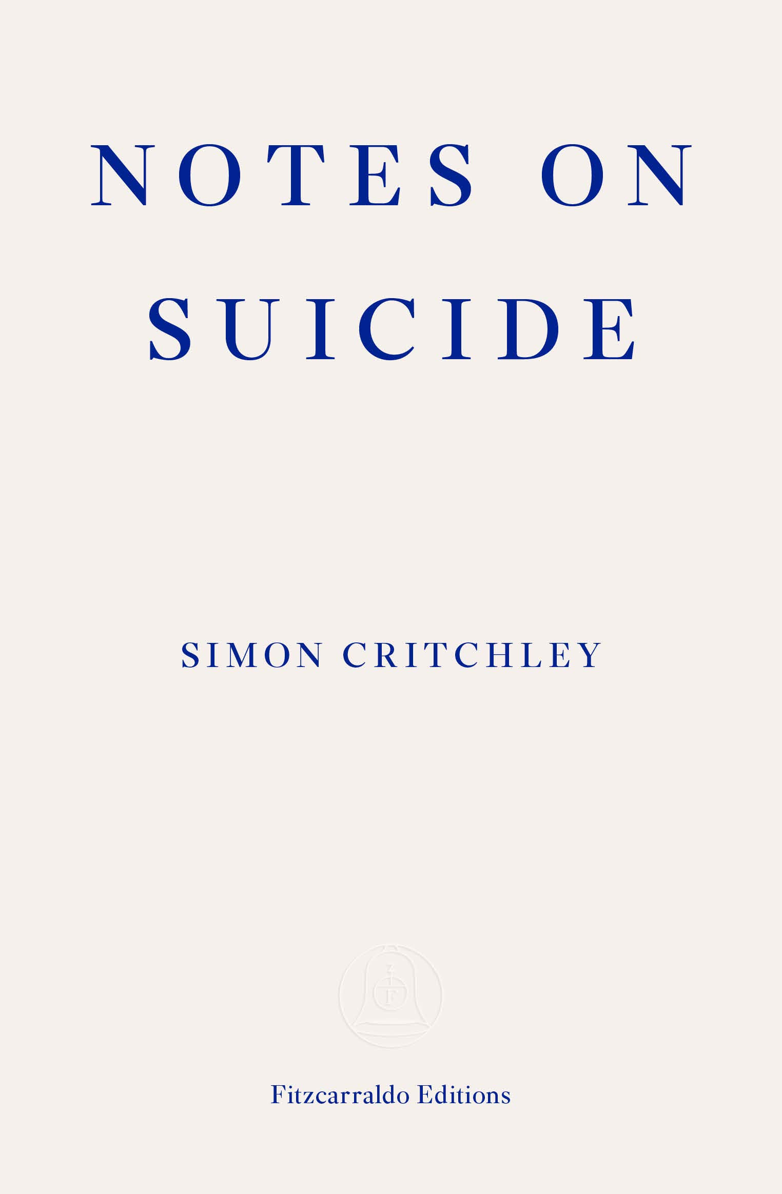 Notes on Suicide - The book