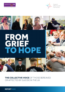 Cover image of from Grief to Hope Report